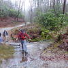 First creek crossing
