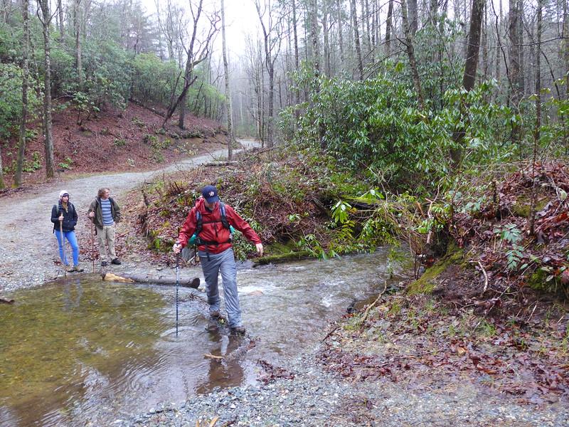 First creek crossing