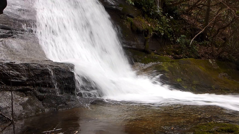 37 second video of Pinnacle Falls