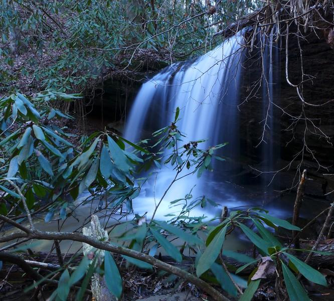 Unnamed 10' waterfall on Rachael Creek