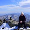 <h1>Jan</h1>....at Grassy Ridge on Roan Mountain.