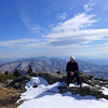 <h1>Jan</h1>....at Grassy Ridge on Roan Mountain.