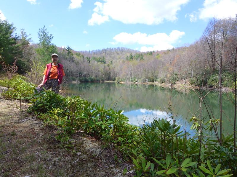 Brenda at Hidden Lake