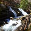 Waterfall along Daniel Ridge Creek
