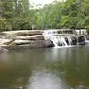 Mark along side Side Pocket Falls
