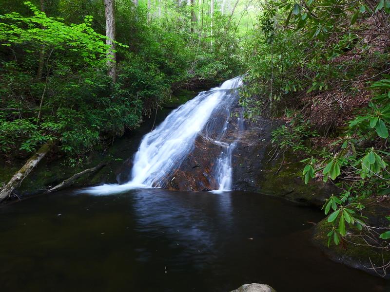 Waterfall on Slate Rock Creek