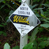 <h1>Bear Sanctuary</h1>Sign seen along Turkey Pen Gap Trail in Pisgah National Forest, NC.
