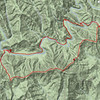"<h1>GPS track of hike</h1>Starting and ending at Turkey Pen Trailhead, I went down South Mills River Trail to the river, followed the river upstream to Wagon Road Trail, followed that up to the ridgeline and picked up Turkey Pen Gap Trail, following it back to the trailhead.  <u><b><a href=""http://www.brendajwiley.com/gps/south_mills_river_wagon_road.html"">Interactive map here</a></b></u>.  ."