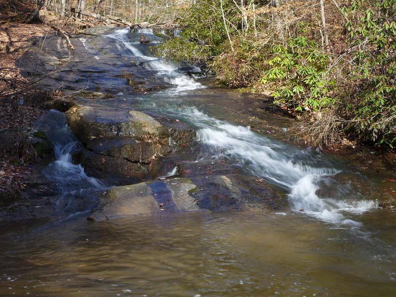 Long cascade along Roper Creek