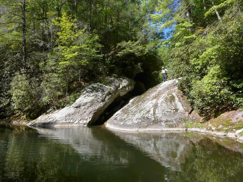 Steels Creek at 1600' elevation