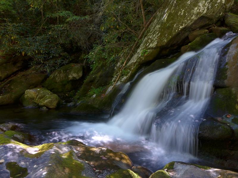 Small little waterfall