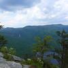 Long range view of Slicking Falls