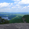 View from the top of Table Rock
