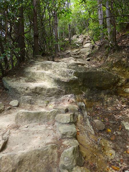 Really ... like I said ... All uphill!