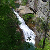 <h1>Tempesta Falls</h1>...along the Tallulah River Gorge.   Zoomed in shot taken from overlook #7 along the South Rim.
