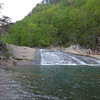 <h1>Bridal Veil Falls</h1>...and the pool at the base.