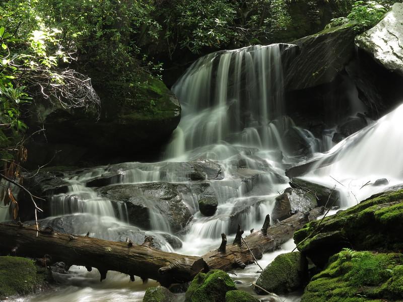 Small waterfall along Carson Creek
