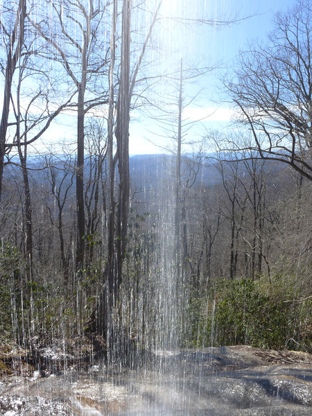<h1>Standing Behind the Falls</h1>...looking out.