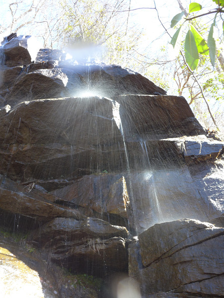 <h1>Another section</h1>..of the right side of the waterfall.