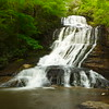 This was our first stop of the day.   A gorgeous waterfall near Saluda, NC.