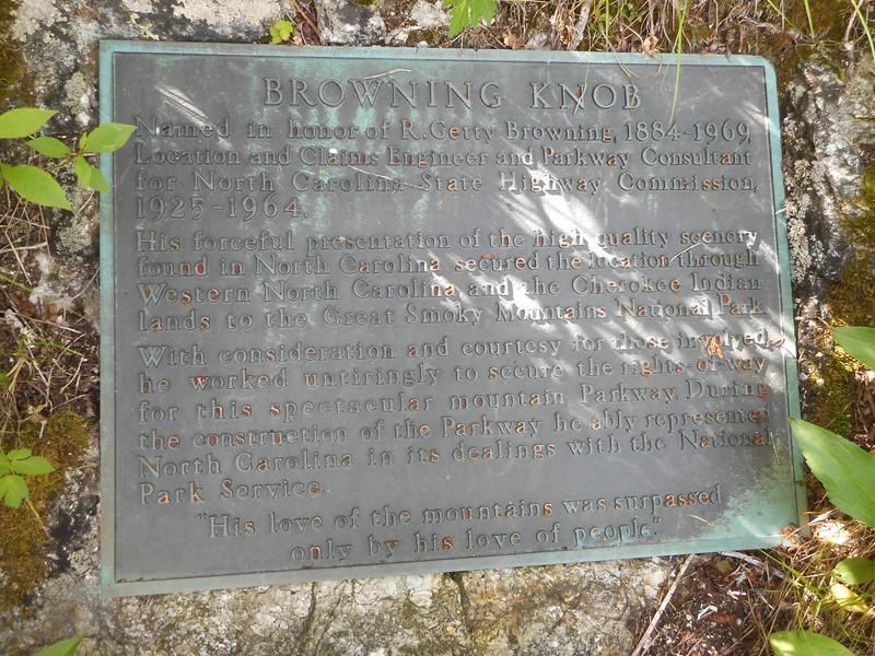 Browning Knob Plaque
