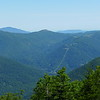 Zoomed in shot to show the Cataloochee Ski area and Hemphill Bald area.