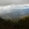 View of Sylva, NC from The Pinnacle.