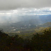 View of Sylva, NC from The Pinnacle.