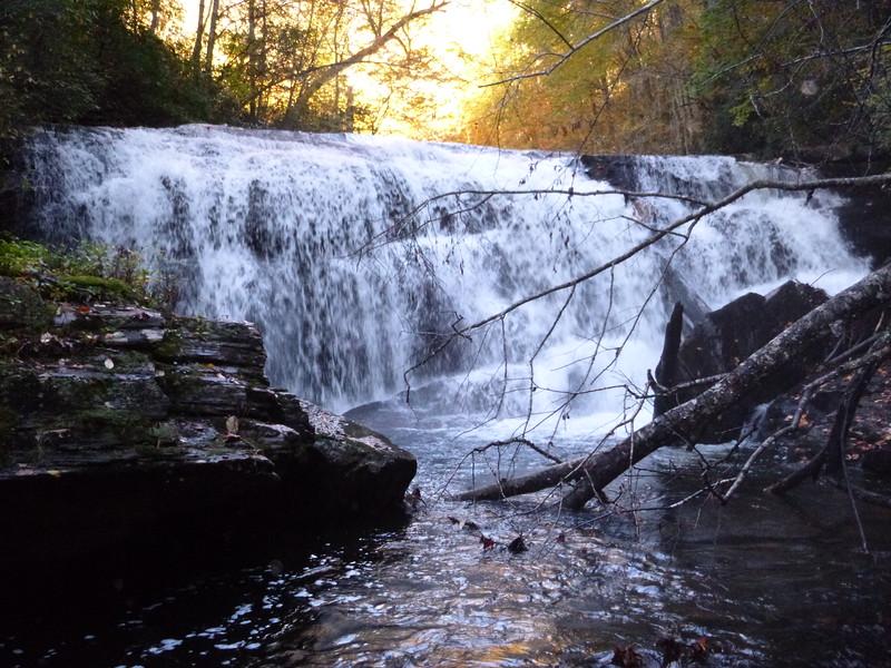 Portage Left Falls