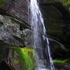 Second waterfall on Wild Hog Creek
