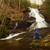 Mark at Wolf Mountain Falls