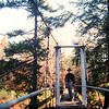 Northville-Placid Trail, W Branch Sacandaga Rive at Whitehouse, oct 13, 1989.