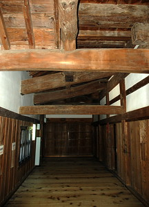 Inside Hikone Castle Tenshu