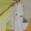 Ayano wearing her white belt Aikido uniform