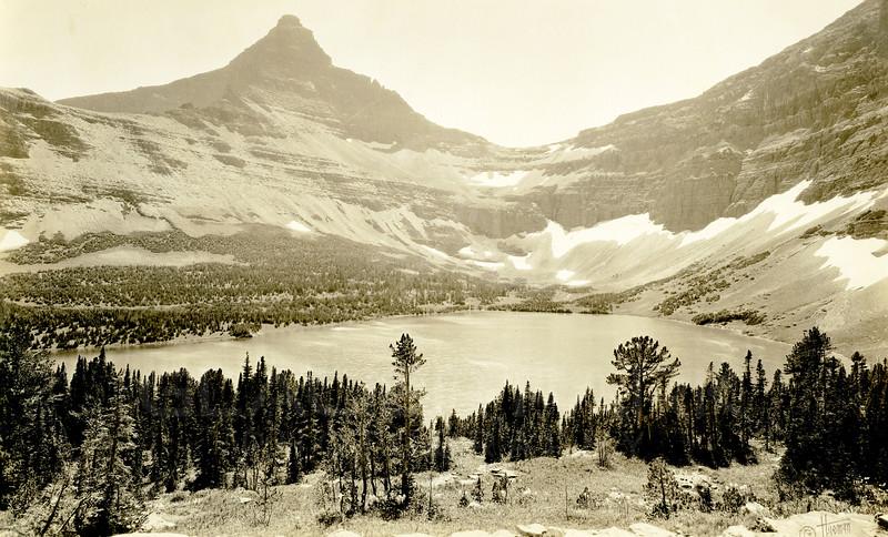Flinsch Peak and Old Man Lake