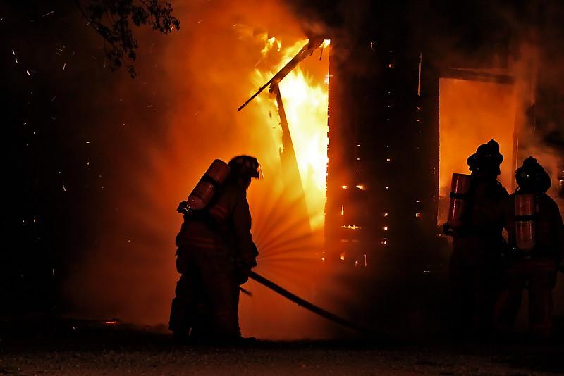 Fire in Hillsboro