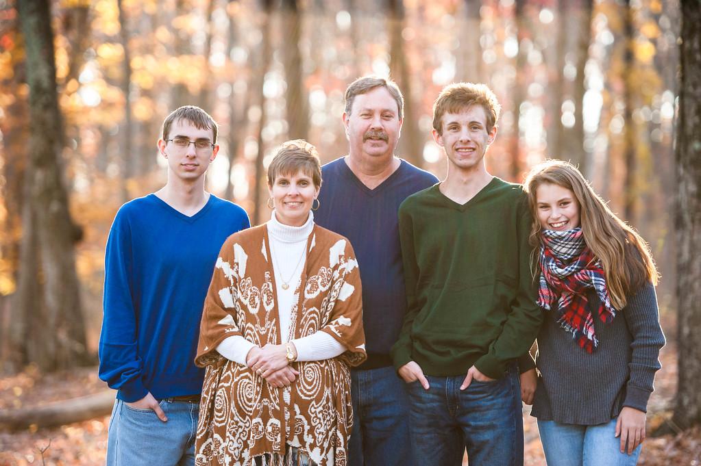 Hill Family: Fall 2016