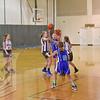 JV Girls White & JV Girls Green Basketball 2-2-2016