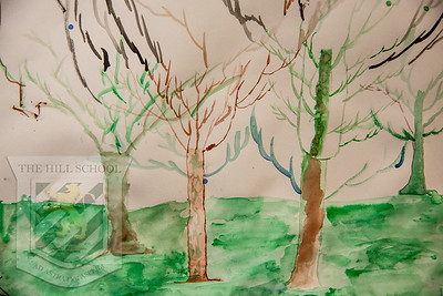 3rd Grade Fanciful Trees