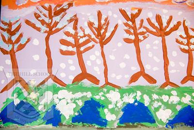 2nd Grade-Winter Trees