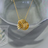 Love knot 14kt. gold
