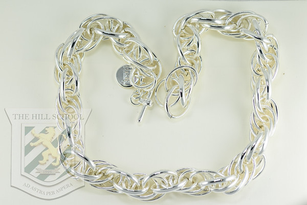 """Italian Silver link choker 16"""""""
