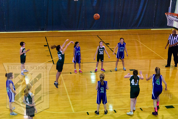 Basketball 6th Grade Girls vs LCDS