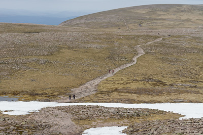 The long eroded path to Ben Macdui