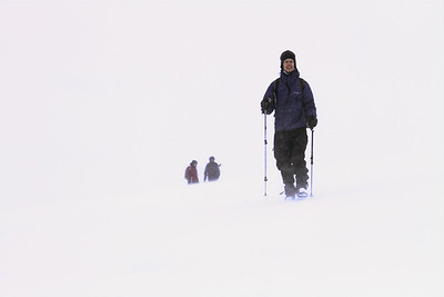 Jim undaunted by white-out
