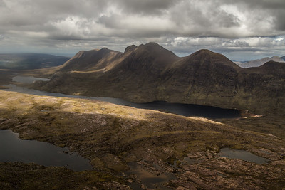 Baosbheinn, a ridge of Corbettes further north