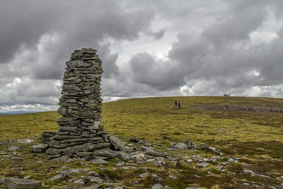 Approaching the summit of Carn An Fhreiceadain