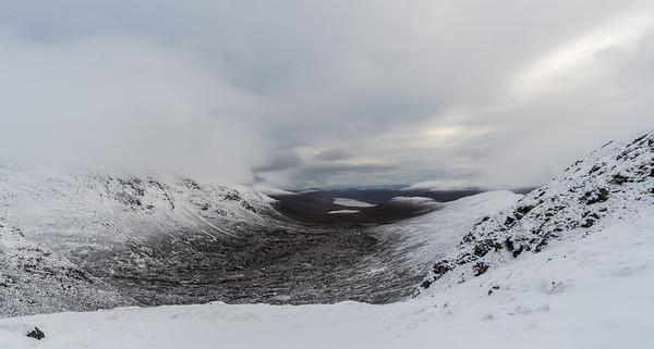 Looking towards Loch Glascarnoch