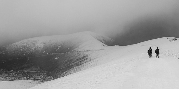 Meall nan Sleac in the distance