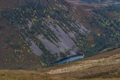 Deep down Lochan Uaine - green loch
